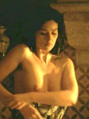 Amazing Monica Bellucci shows her nice..
