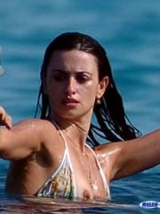 Pretty Penelope Cruz having fun with..