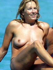 Hot Penny Lancaster exposing her..