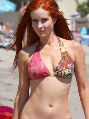 Phoebe Precept posing upon sexy bikini..