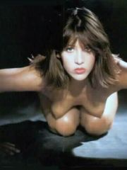 French beauty Sophie Marceau shows her..