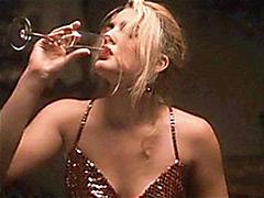 Sweet American Actress Drew Barrymore Sex Scene