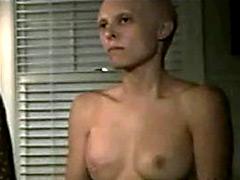 Hot american actress Erin Daniels wild lesbian sex