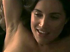 Rachel Shelley gets her nipples licked by hot babe
