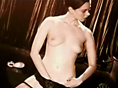 Mia Kirshner flashing nude body in hot..