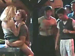 Jodie Foster gets pounded hard by a..