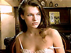Gorgeous Actress Milla Jovovich..