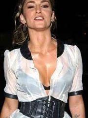 sexy actress Drea De Matteo posing in..