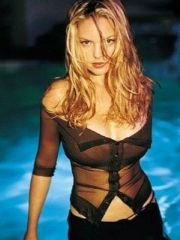 cute actress Katherine Heigl posing in..
