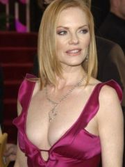 Attractive Marg Helgenberger topless..