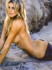 Marisa Miller posing in hot lingerie &..