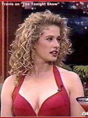sexy actress Nancy Travis shows her hot..