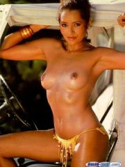 Former Model Barbara Carrera Shows Her..
