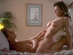 Krista Allen Nude While Rides A Guy
