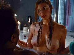 Jessica Pare Nude Sex In A Bath Tub