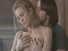 Diane Lane Topless And Gets Boob Massage