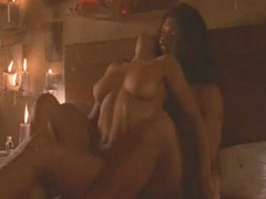 Salma Hayek Gets Fucked By Antonio..