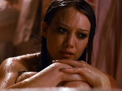 Hilary Duff Nude Sitting In A Buth Tub