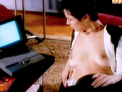 Hot celebrity Catherine Bell showing..
