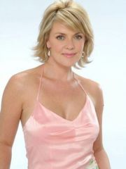 Celebrity Actress Amanda Tapping shows..