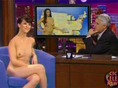 Your favorite hot sexy stars get naked in late night talk..