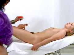 Nude Dagmar Burger, lesbian action..