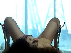 Debora Caprioglio spreading legs and..