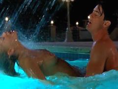 Elizabeth Berkley having wild sex with..