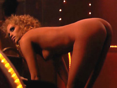 Elizabeth Berkley fully nude giving to..