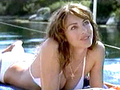Elizabeth Hurley in small panties..