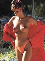 Australian model Elle Macpherson show..