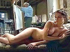 Celebrity actress Emmanuelle Beart nude
