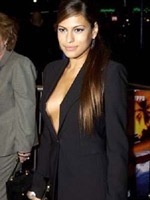 Eva Mendes showing some nipples and..