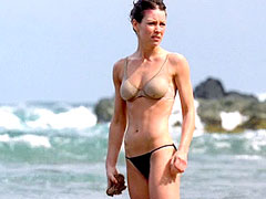 Beautiful Evangeline Lilly in small..