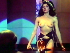 Gina Bellman in sexual black bra and..