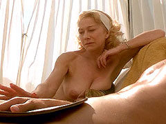 Naked chubby celeb Helen Mirren shows melons and body
