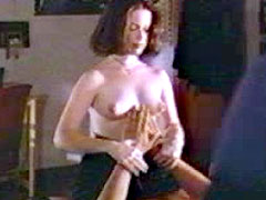 Holly Marie Combs undresses publicly..