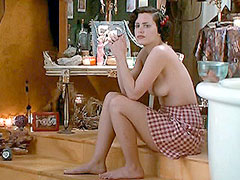 Brunette celebrity Ione Skye hot..