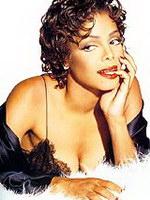 Pop star Janet Jackson fully naked on a..