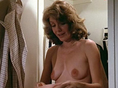 Mature celebrity Jill Clayburgh poses..