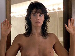 Wet and naked Joan Severance exposes..
