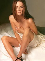 Paparazzi bikini photos of Julianne Moore