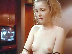 Julie Delphy has sex with guy and throwing her head back in pleasure