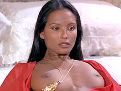 Nude Laura Gemser, hairy hole