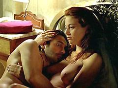 Leonor Watling naked sitting on stool..