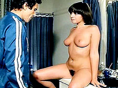 Celebrity Lina Romay naked spreading..