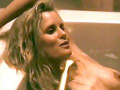 Actress Lori Singer in bath erotic..
