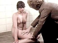 Naked Martina Engel talks to the guy..