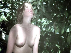 Melanie Griffith sparkles hairy pussy and nude breasts