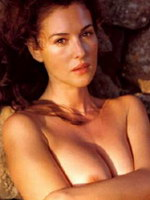 Scandalous photos of star Monica Bellucci